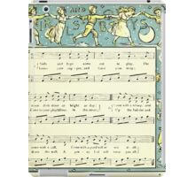 The Baby's Opera - A Book of Old Rhymes With New Dresses - by Walter Crane - 1900-13 Girls and Boys iPad Case/Skin