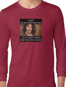 Agile - you keep using that word Long Sleeve T-Shirt