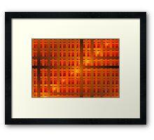 'Grid 12' Framed Print