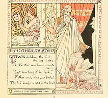 The Baby's Own Aesop by Walter Crane 1908-39 Brother and Sister by wetdryvac