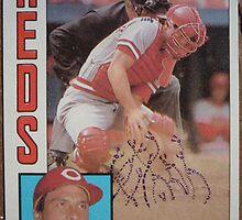 187 - Dann Bilardello by Foob's Baseball Cards