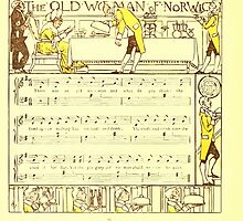 The Baby's Boquet - A Fresh Bunch of Old Rhymes and Tunes - by Walter Crane - 1900-20 The Old Woman of Norwich by wetdryvac