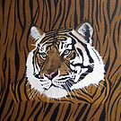 Tiger on Tiger by Sooty6
