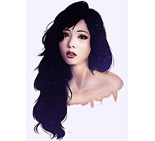 HyunA of the Galaxy Photographic Print