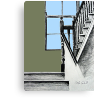 A Stairwell in Limerick Canvas Print