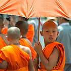 The Young Monk  by Rob Hawkins