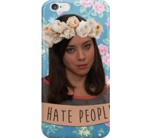 I Hate People  iPhone Case/Skin