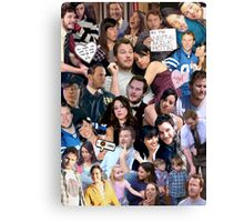 April and Andy - Parks and Recreation Canvas Print