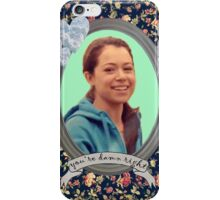 Beth Childs Portrait - Orphan Black iPhone Case/Skin