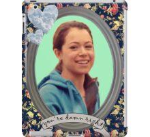 Beth Childs Portrait - Orphan Black iPad Case/Skin