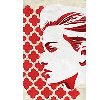 """""""Red woman"""" Photographic Print"""