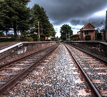 Train station, Exeter. by Ian Ramsay