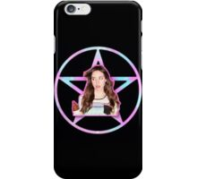 Aubrey Plaza Pentagram iPhone Case/Skin