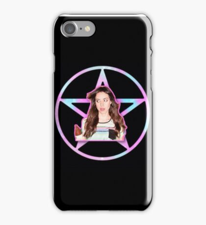 Aubrey Plaza Pentagram iPhone Case/Skin