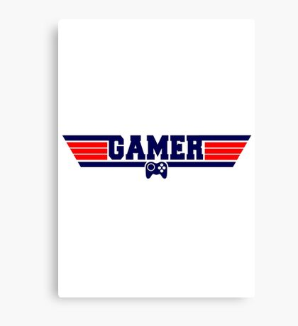 Top Gamer Canvas Print