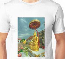 Sheltered Buddha  Unisex T-Shirt