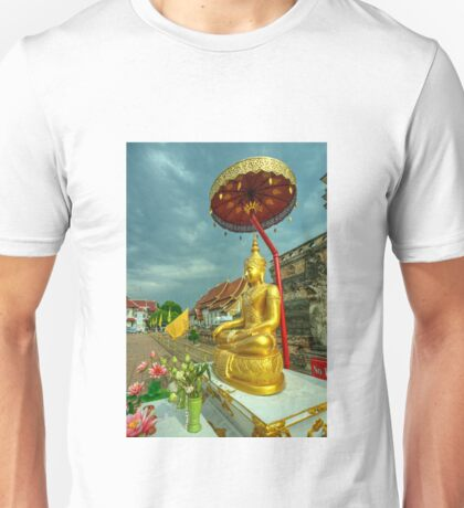 Sheltered Buddha  Unisex T-Shirt