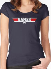 Top Gamer Women's Fitted Scoop T-Shirt