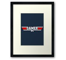 Top Gamer Framed Print