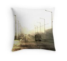 ....on the road again: Featured Work Throw Pillow