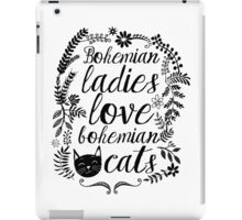 Bohemian Lady iPad Case/Skin