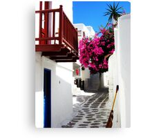 The Greek Isles Canvas Print