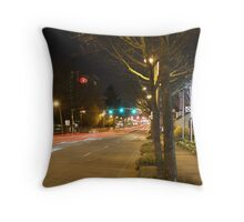 """""6th Street"""" Throw Pillow"