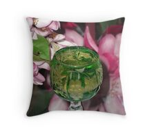 A Toast to Spring! Throw Pillow