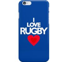I love rugby iPhone Case/Skin