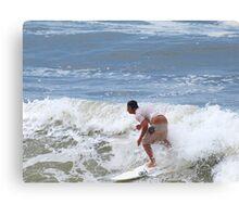A crack shot ... Waves at Burleigh Beach  Canvas Print
