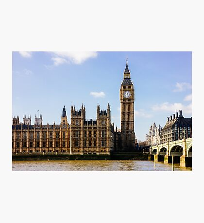 Houses of Parliament Photographic Print