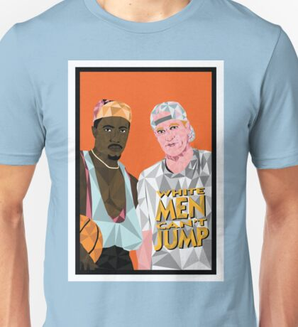 White Men Can't Jump - Geometric Poster Unisex T-Shirt