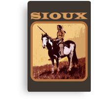 Sioux Canvas Print