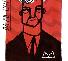David Lynch by Peony Gent