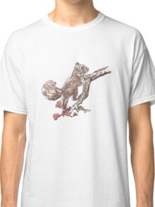 Watercolour Squirrel Classic T-Shirt