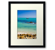A perfect day in Robe Framed Print