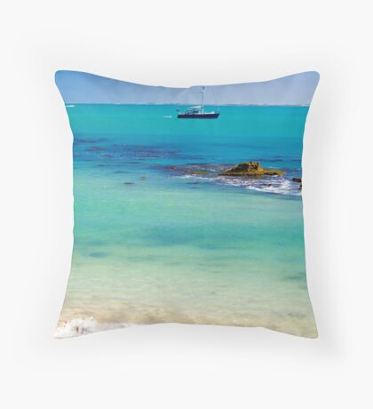 A perfect day in Robe Throw Pillow