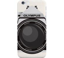 Olympus OM1 35mm slr iPhone Case/Skin
