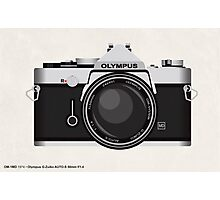 Olympus OM1 35mm slr Photographic Print