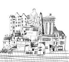 Edinburgh Sights by Peony Gent