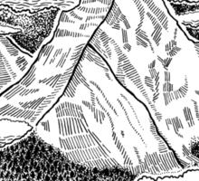 The Misty Mountains Sticker