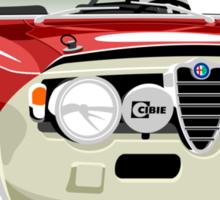 Alfa Romeo Giulia Sprint GT caricature Sticker