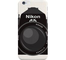 Nikon FE 35mm slr iPhone Case/Skin