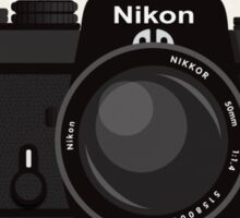 Nikon FE 35mm slr Sticker
