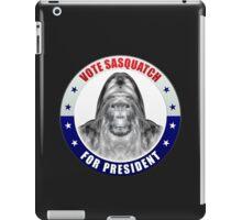 Sasquatch For President iPad Case/Skin