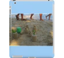 Ignoring The Sand Critters as You Walk Past iPad Case/Skin