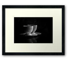 Double Latte Framed Print