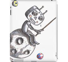 Fishing Robot iPad Case/Skin
