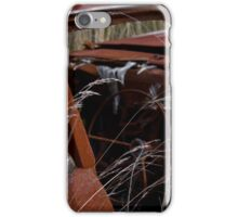 burnt out car  iPhone Case/Skin