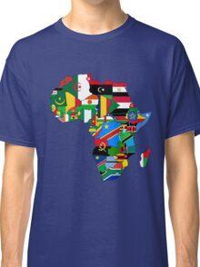 Africa flags Classic T-Shirt